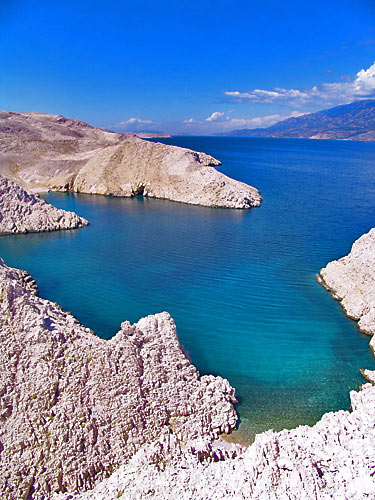 Laguna Metajna Pag Isle Croatia